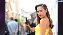 Jessica Alba Rocks A One-Piece Swimsuit (Even Though She Likes Her Stomach Better Than Her Legs)