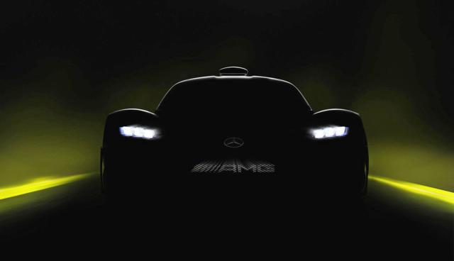 Mercedes teases hybrid supercar with Formula 1 tech
