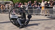 Meet the daredevil aiming to break the speed record for monowheels