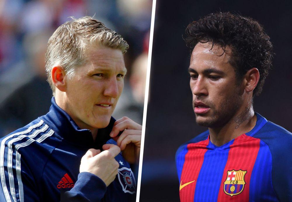 EXCLU GOAL - Schweinsteiger voudrait voir Neymar sous le maillot du Bayern