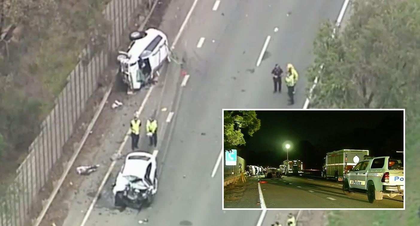 Three killed after stolen car speeds into oncoming traffic in Brisbane