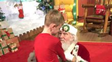 'Best Santa ever!': Autistic boy's Santa visit will warm your heart