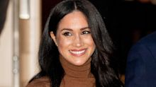 Meghan Markle wore a chic $498 asymmetric top for her latest video conference call