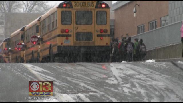 Longer Winter Could Mean Shorter Summer For Md. Students