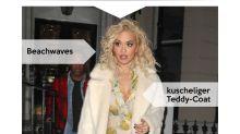 Look des Tages: Rita Ora zeigt sich lässig in kuscheligem Teddy-Coat