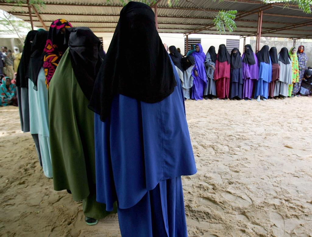 Chad has banned the full-face Muslim veil and instructed security forces to burn burqas seized in the markets after 33 people were killed in twin suicide bombings blamed on Nigerian Islamist group Boko Haram this week (AFP Photo/Issouf Sanogo)