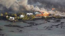 Volcanic lava buries two housing tracts on Hawaii's Big Island