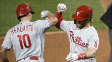 Bryce Harper issues challenge to front office, demands Phillies re-sign J.T. Realmuto
