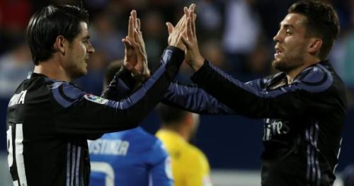 Foot - ESP - Le Real Madrid garde la tête de la Liga après sa victoire à Leganés