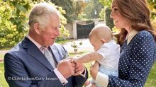The Palace FINALLY Released a Photo of Prince Louis ... Right This Way
