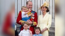 COVID-19: Prince William & Kate's Children Clap for Health Workers