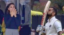 Virat Breaks World-Record in Third Test; Proud Anushka Cheers On