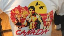 Twitter is amused by this majestic Justin Trudeau T-shirt