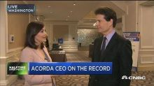 Acorda Therapeutics CEO: With drug prices in the media, t...