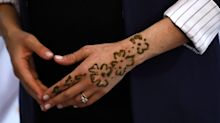 Duchess of Sussex gets henna tattoo in Moroccan custom to celebrate pregnancy