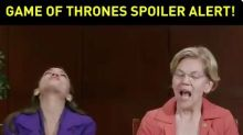 AOC, Warren disappointed by 'Game of Thrones' finale: 'Ugh, this was written by men'