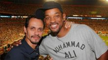 Will Smith se puso a bailar salsa con Marc Anthony; mira lo que hizo