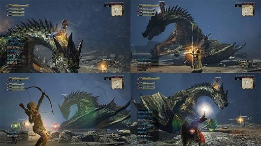 Watch Dragon's Dogma Online gameplay in the debut trailer