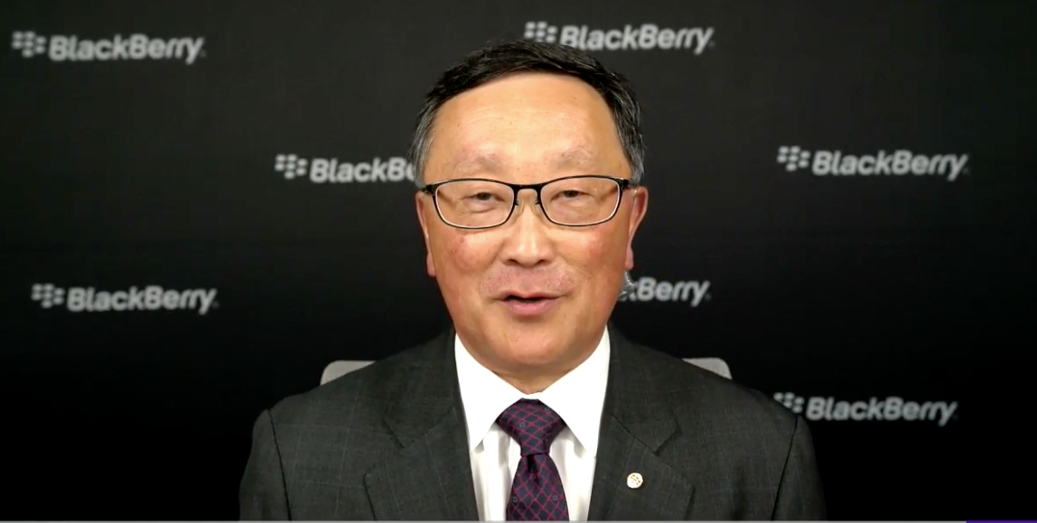Blackberry CEO on trade, earnings and self-driving cars ...