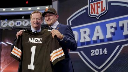 Browns didn't have Johnny Manziel on their draft board three months before taking him, and why that matters this week