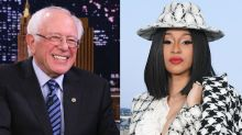 Bernie Sanders cheers on Cardi B after rapper says she wants to 'be a politician'