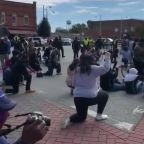 N. Carolina voter rally ends with pepper spray, 8 arrests