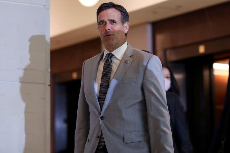 Trump intel chief defends briefings ban, Democrats raise subpoena threat