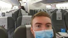 坐飛機點自保 傳染病專家:外科口罩如同無戴一樣