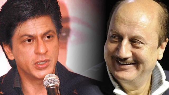Watch: Shah Rukh Khan's Love For Anupam Kher And Irfan Khan