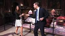 "Will, Kate duke it out in ""Harry Potter"" wand fight"