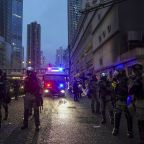Tear gas, warning shot mark escalation in Hong Kong protests