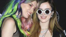 Bella Thorne y Dani Thorne, duelo de hermanas 'gemelas' en Las Vegas