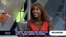 Pompey on how Goldman Sachs is working on diversity, Trump fueling company's philanthropy