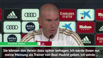 Golf? Zidane: Will es Bale nicht verbieten
