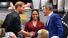 Meghan Markle and Prince Harry Cheer Alongside the Beckham Family at Invictus Games Basketball Final