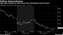 Semiconductor Stocks Post Worst Three-Day Plunge Since 2014