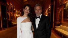 Amal und George Clooney treffen Prinz Charles im Buckingham-Palast