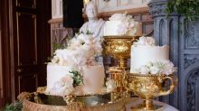 Harry and Meghan's wedding cake has been revealed and it looks beautiful