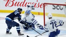 Kyle Connor scores twice, Jets beat Leafs in regular-season finale