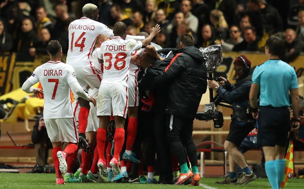 Ligue des champions: Monaco pour la 4ème fois en demies, la L1 pour la 1ère fois depuis 2010