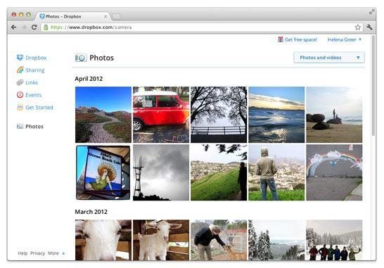 Dropbox adds automatic photo uploads for Windows and Mac, up to 3GB just for using it