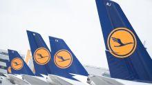 Lufthansa mit Gegenwind