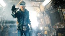 The web mocks weirdly long leg in 'Ready Player One' poster