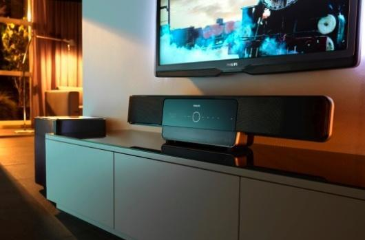 Philips debuts Soundbar with Blu-ray, Home Theaters galore