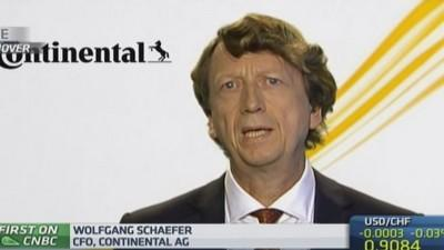 Continental 'outgrowing its market': CFO