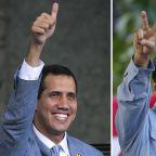 The Latest: Rocks thrown at Venezuela opposition caravan