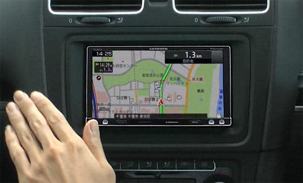 Pioneer's latest Raku Navi GPS units take commands from hand gestures