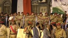 Rebeldes relembram tomada de capital