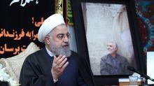 Rouhani llama a la unidad de los iraníes y acusa a Trump de buscar su división