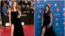 Paula Echevarría se marca un 'Angelina' en la Gala Sida 2016